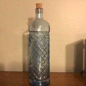 Blue Vase with cork
